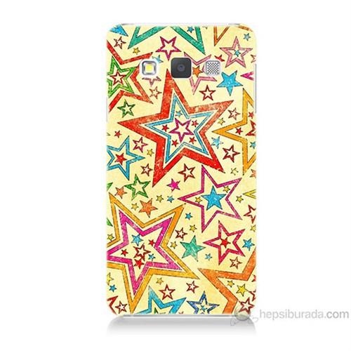 Teknomeg Samsung Galaxy A7 Yıldızlar Baskılı Silikon Kılıf