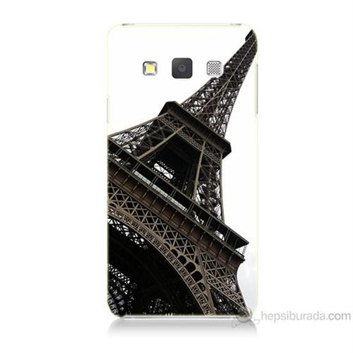 Teknomeg Samsung Galaxy A7 Eyfel Kulesi Baskılı Silikon Kılıf