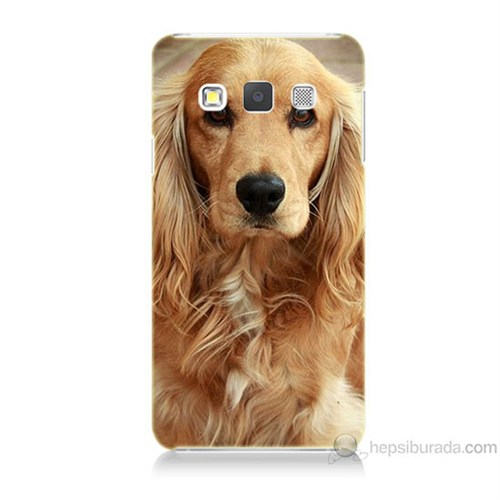 Teknomeg Samsung Galaxy A7 Köpek Baskılı Silikon Kılıf