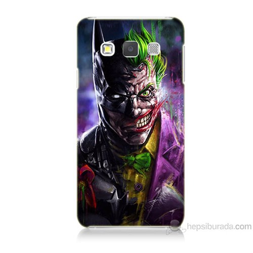 Teknomeg Samsung Galaxy A7 Batman Vs Joker Baskılı Silikon Kılıf