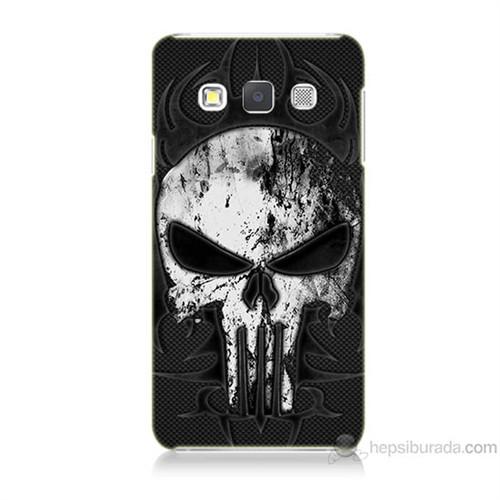 Teknomeg Samsung Galaxy A7 Punnisher Kurukafa Baskılı Silikon Kılıf