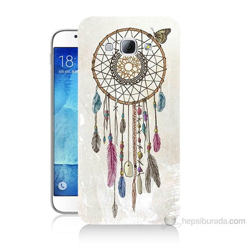 Teknomeg Samsung Galaxy A8 Dream Catcher Baskılı Silikon Kılıf