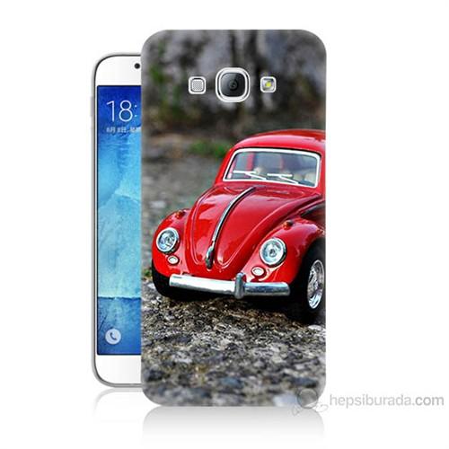 Teknomeg Samsung Galaxy A8 Volkswagen Baskılı Silikon Kılıf
