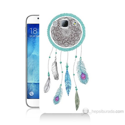 Teknomeg Samsung Galaxy A8 Düş Kapanı Baskılı Silikon Kılıf