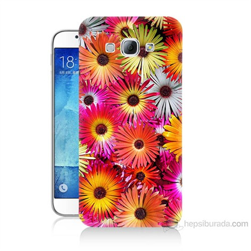 Teknomeg Samsung Galaxy A8 Kasımpatı Baskılı Silikon Kılıf