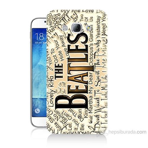 Teknomeg Samsung Galaxy A8 The Beatles Baskılı Silikon Kılıf