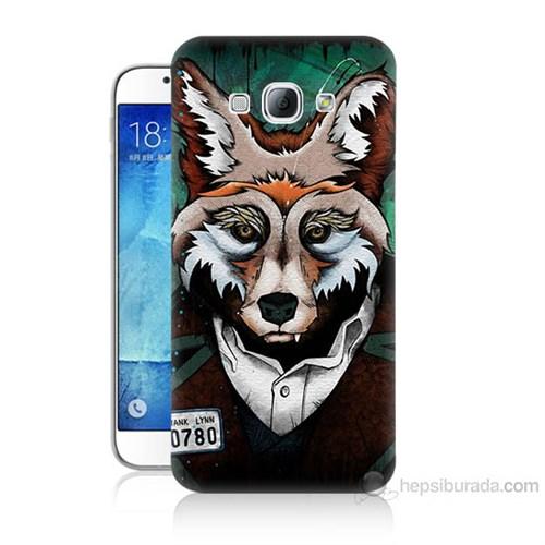 Teknomeg Samsung Galaxy A8 Bad Wolf Baskılı Silikon Kılıf