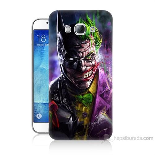 Teknomeg Samsung Galaxy A8 Batman Vs Joker Baskılı Silikon Kılıf