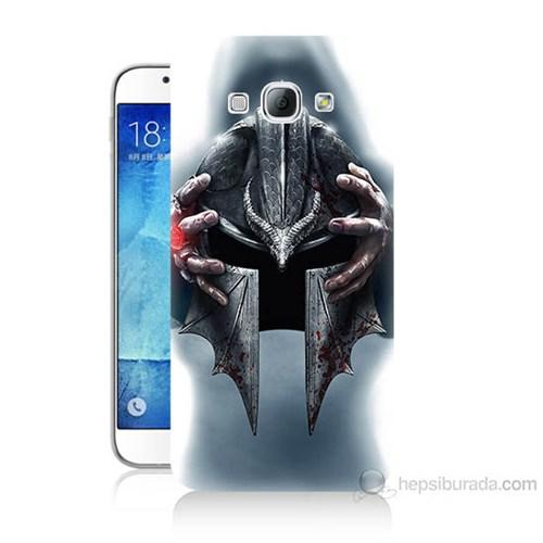 Teknomeg Samsung Galaxy A8 Assassins Creed Baskılı Silikon Kılıf