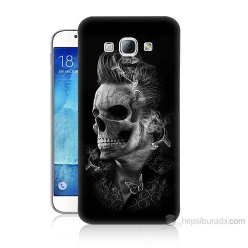 Teknomeg Samsung Galaxy A8 Elvis Presley Efsanesi Baskılı Silikon Kılıf
