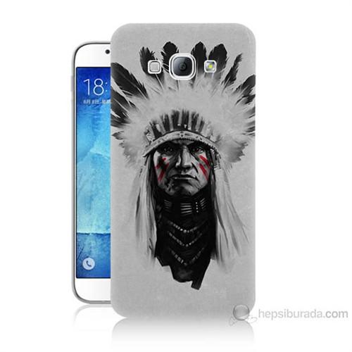 Teknomeg Samsung Galaxy A8 Geronimo Baskılı Silikon Kılıf