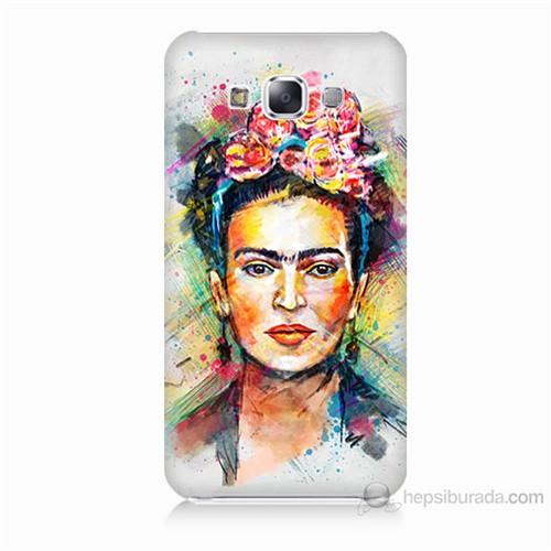 Teknomeg Samsung Galaxy E5 Frida Baskılı Silikon Kılıf