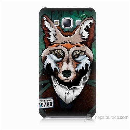 Teknomeg Samsung Galaxy E5 Bad Wolf Baskılı Silikon Kılıf