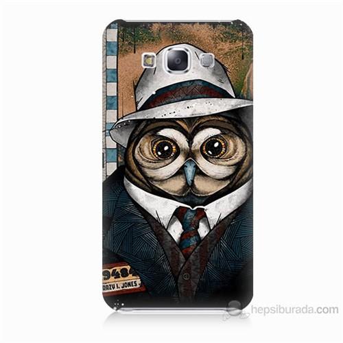 Teknomeg Samsung Galaxy E5 Crazy Jones Baskılı Silikon Kılıf