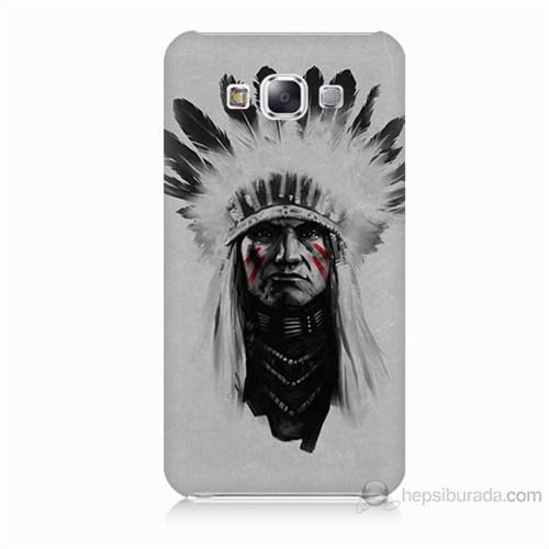 Teknomeg Samsung Galaxy E5 Geronimo Baskılı Silikon Kılıf