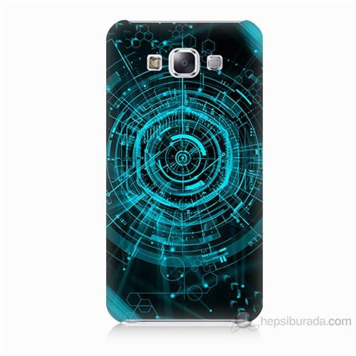 Teknomeg Samsung Galaxy E7 Asit Baskılı Silikon Kılıf