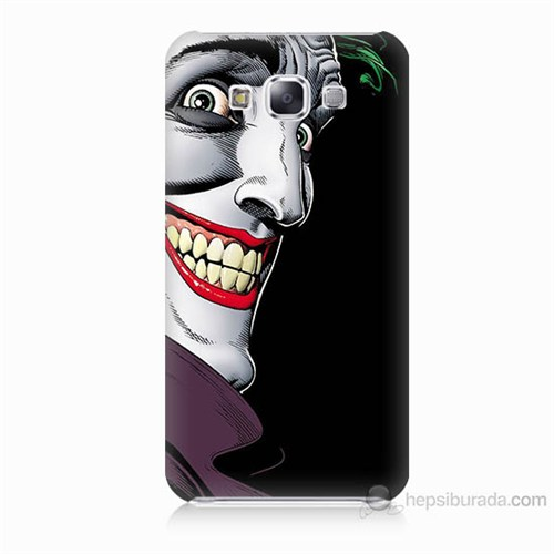 Teknomeg Samsung Galaxy E7 Joker Baskılı Silikon Kılıf
