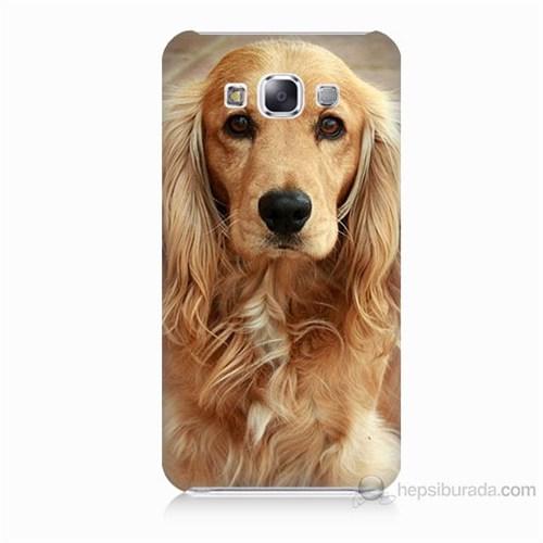 Teknomeg Samsung Galaxy E7 Köpek Baskılı Silikon Kılıf