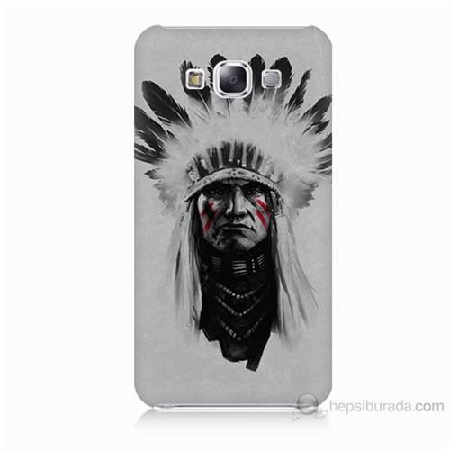 Teknomeg Samsung Galaxy E7 Geronimo Baskılı Silikon Kılıf