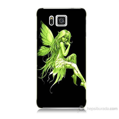 Teknomeg Samsung Galaxy Alpha G850 Peri Kızı Baskılı Silikon Kılıf