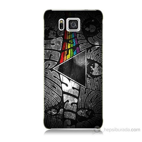 Teknomeg Samsung Galaxy Alpha G850 Pink Floyd Baskılı Silikon Kılıf