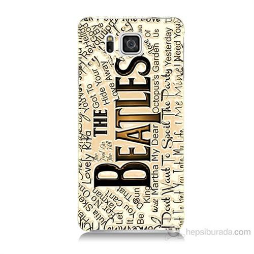 Teknomeg Samsung Galaxy Alpha G850 The Beatles Baskılı Silikon Kılıf