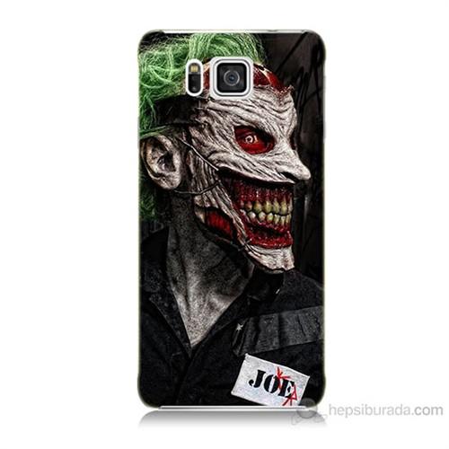 Teknomeg Samsung Galaxy Alpha G850 Joker Joe Baskılı Silikon Kılıf