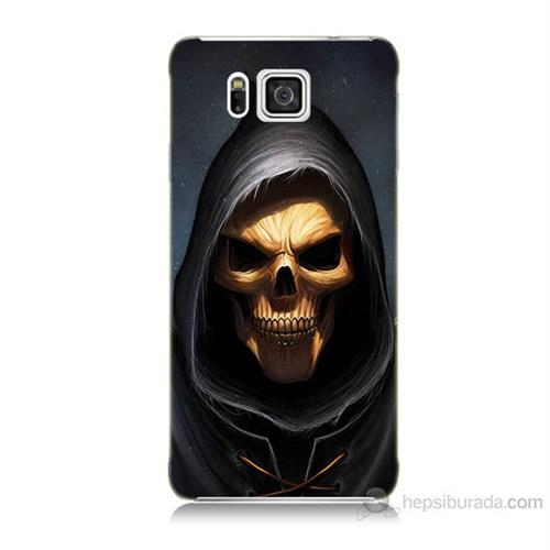Teknomeg Samsung Galaxy Alpha G850 Ölüm Meleği Baskılı Silikon Kılıf
