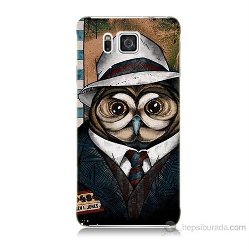 Teknomeg Samsung Galaxy Alpha G850 Crazy Jones Baskılı Silikon Kılıf