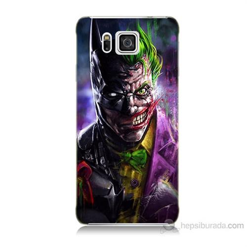 Teknomeg Samsung Galaxy Alpha G850 Batman Vs Joker Baskılı Silikon Kılıf
