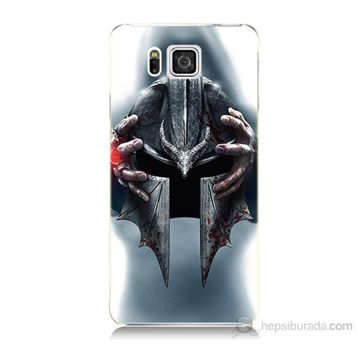 Teknomeg Samsung Galaxy Alpha G850 Assassins Creed Baskılı Silikon Kılıf