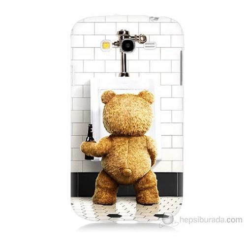 Teknomeg Samsung Galaxy Grand Duos İ9082 Tedy Bear Baskılı Silikon Kılıf