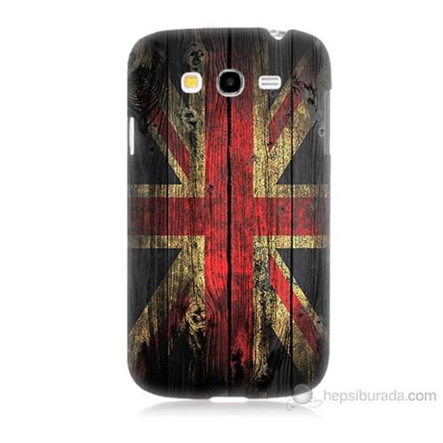 Teknomeg Samsung Galaxy Grand Duos İ9082 İngiliz Bayrağı Baskılı Silikon Kılıf