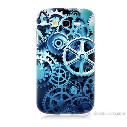 Teknomeg Samsung Galaxy Grand Duos İ9082 Çarklar Baskılı Silikon Kılıf