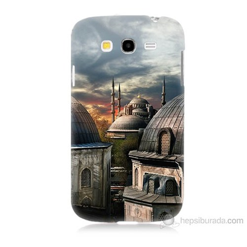 Teknomeg Samsung Galaxy Grand Duos İ9082 Cami Baskılı Silikon Kılıf