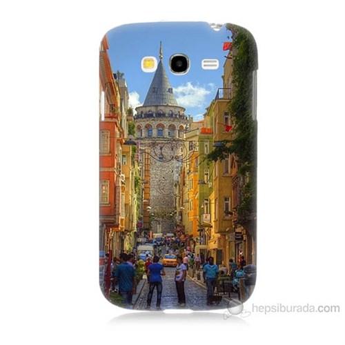 Teknomeg Samsung Galaxy Grand Duos İ9082 Galata Kulesi Baskılı Silikon Kılıf