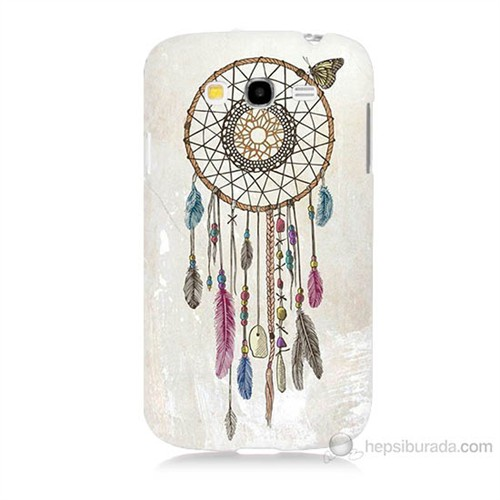 Teknomeg Samsung Galaxy Grand Neo İ9060 Dream Catcher Baskılı Silikon Kılıf