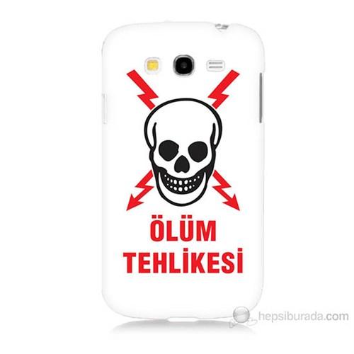 Teknomeg Samsung Galaxy Grand Neo İ9060 Ölüm Tehlikesi Baskılı Silikon Kılıf