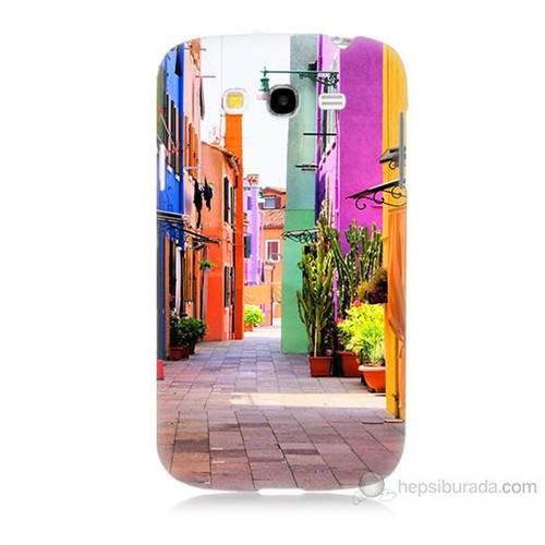 Teknomeg Samsung Galaxy Grand Neo İ9060 Sokak Baskılı Silikon Kılıf