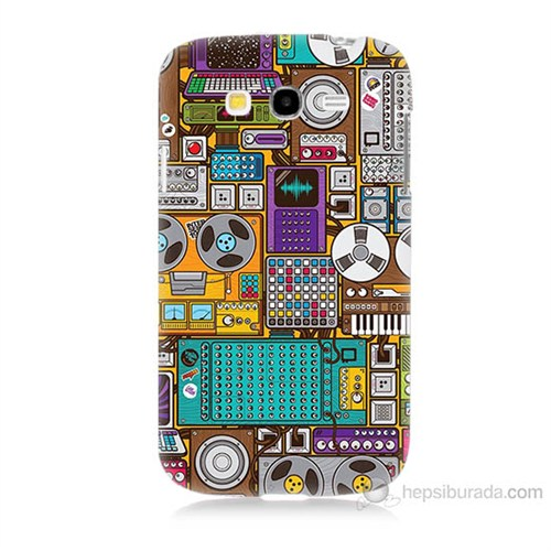 Teknomeg Samsung Galaxy Grand Neo İ9060 Teknoloji Baskılı Silikon Kılıf
