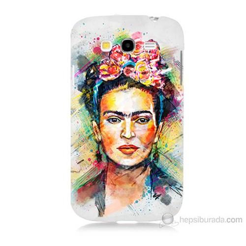 Teknomeg Samsung Galaxy Grand Neo İ9060 Frida Baskılı Silikon Kılıf