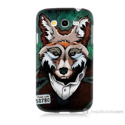 Teknomeg Samsung Galaxy Grand Neo İ9060 Bad Wolf Baskılı Silikon Kılıf