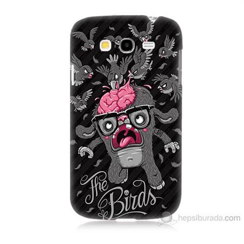 Teknomeg Samsung Galaxy Grand Neo İ9060 The Birds Baskılı Silikon Kılıf