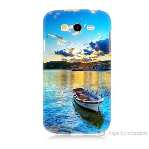 Teknomeg Samsung Galaxy Grand Neo İ9060 Gün Batımında Deniz Baskılı Silikon Kılıf