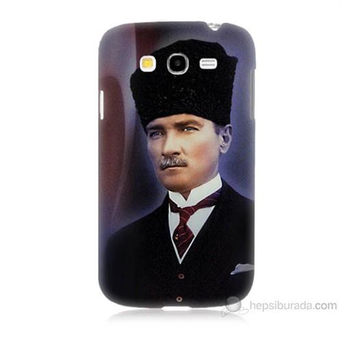 Teknomeg Samsung Galaxy Grand Neo İ9060 Mustafa Kemal Atatürk Baskılı Silikon Kılıf