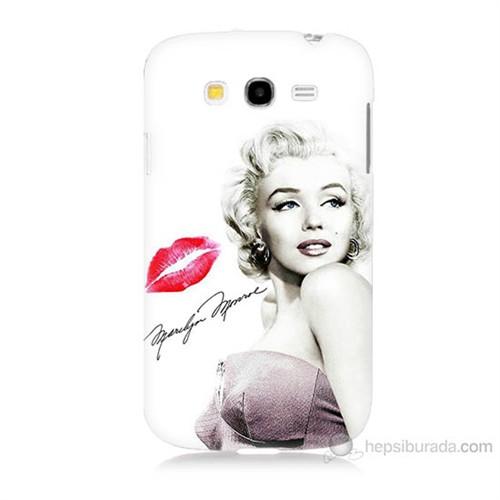 Teknomeg Samsung Galaxy Grand Neo İ9060 Marilyn Monroe Baskılı Silikon Kılıf