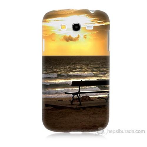 Teknomeg Samsung Galaxy Grand Neo İ9060 Gün Batımı Baskılı Silikon Kılıf