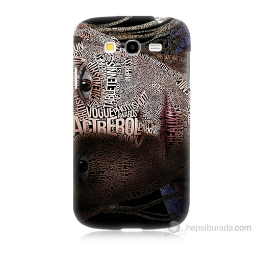 Teknomeg Samsung Galaxy Grand Neo İ9060 Yazılı Kadın Baskılı Silikon Kılıf