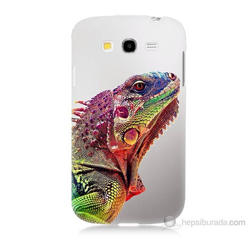 Teknomeg Samsung Galaxy Grand Neo İ9060 İguana Baskılı Silikon Kılıf