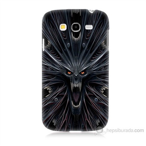 Teknomeg Samsung Galaxy Grand Neo İ9060 Korku Canavarı Baskılı Silikon Kılıf